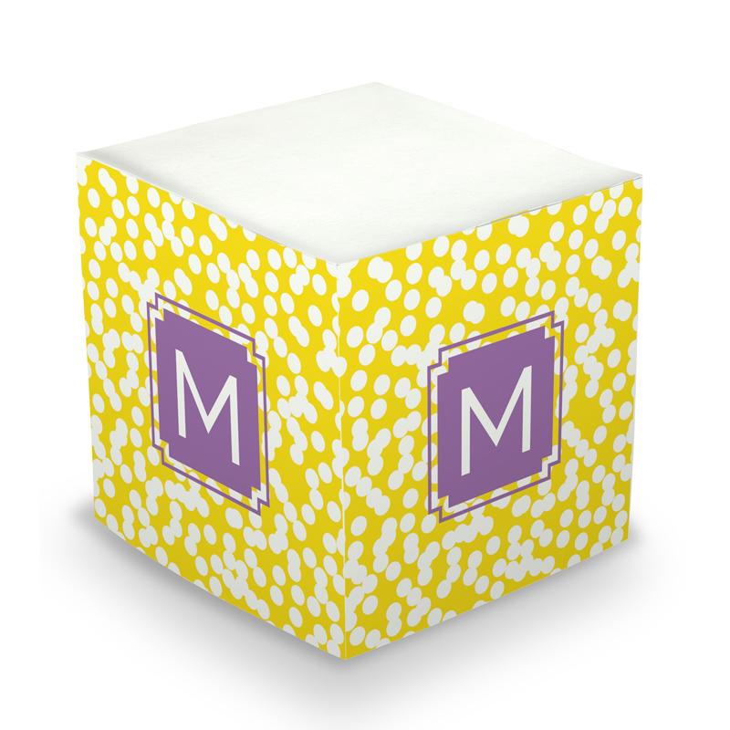 Sticky Note Cube - Hole Punch