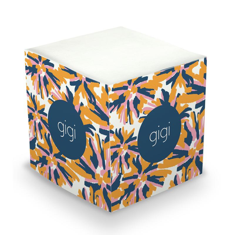 Sticky Note Cube - Fireworks