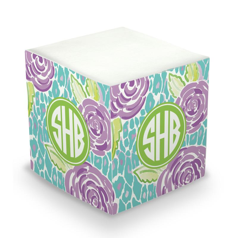 Sticky Note Cube - Mia Violet