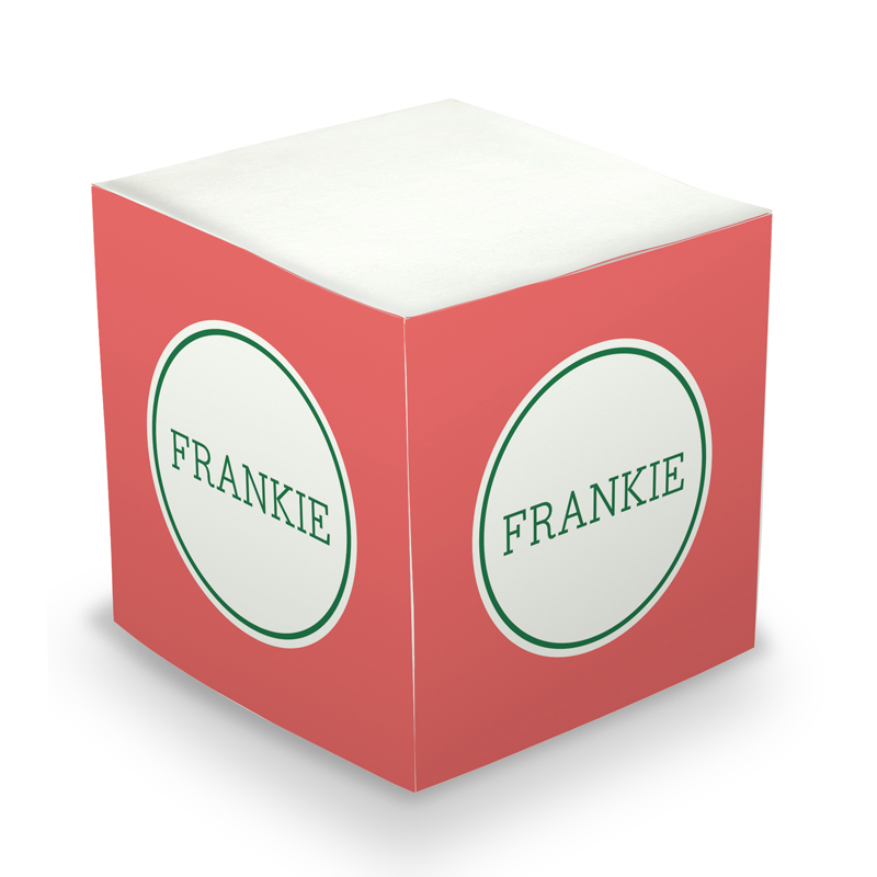 Sticky Note Cube - Great Gifts Watermelon