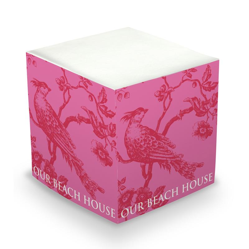 Bold Bird Sticky Memo Cube 675 sheets