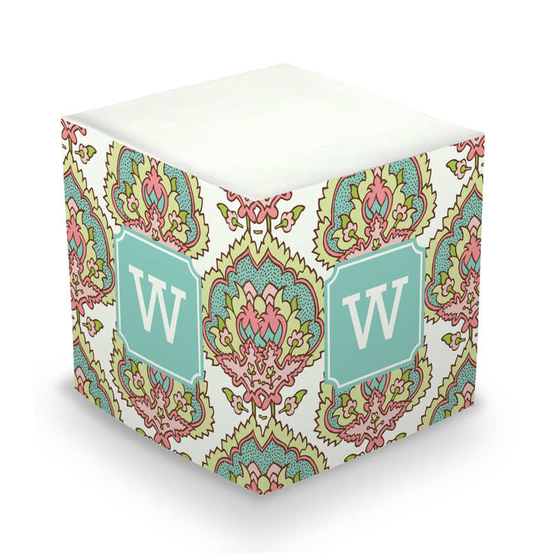 Cora Spring Sticky Memo Cube 675 sheets