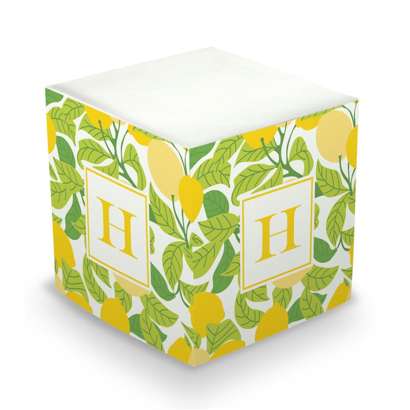 Lemons Sticky Memo Cube 675 sheets