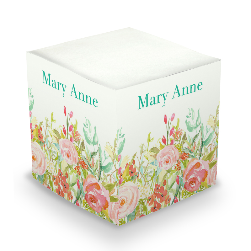Rosy Sticky Memo Cube 675 sheets