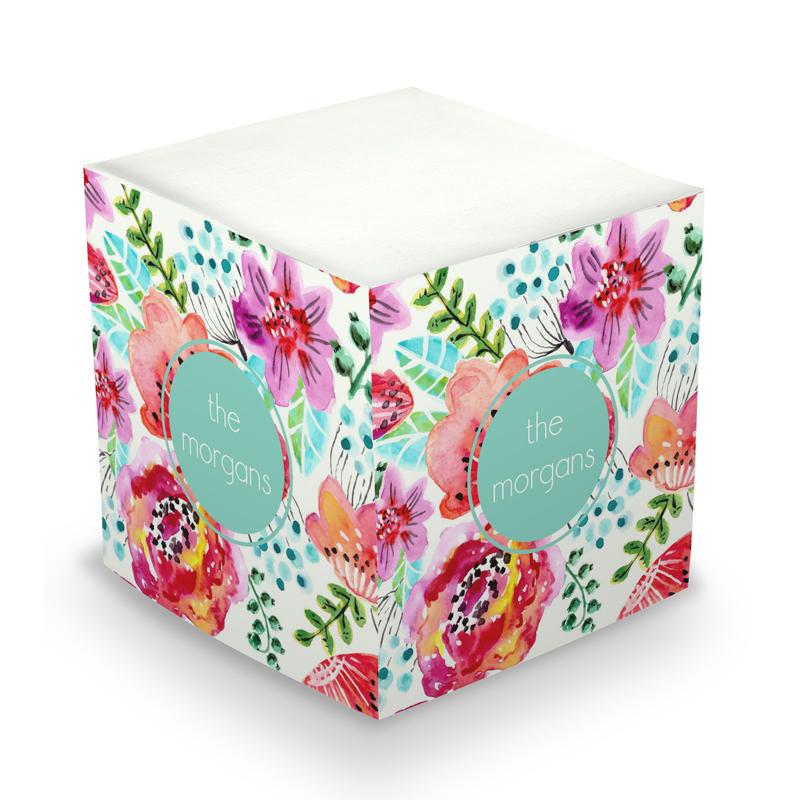 Fleur Sticky Memo Cube 675 sheets
