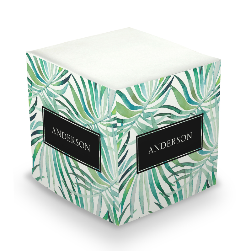 Fern Sticky Memo Cube 675 sheets
