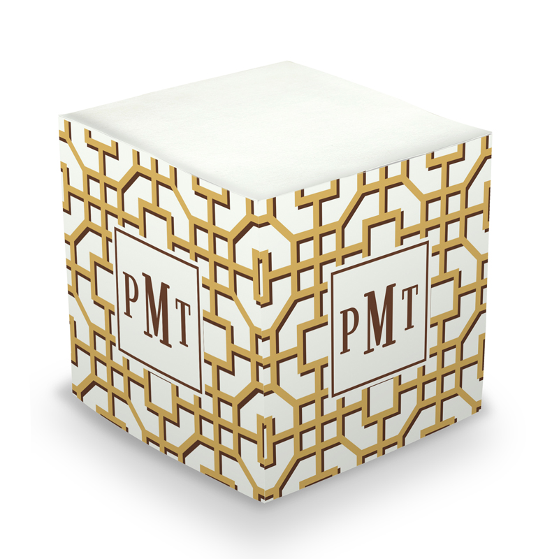 Fret Sticky Memo Cube 675 sheets