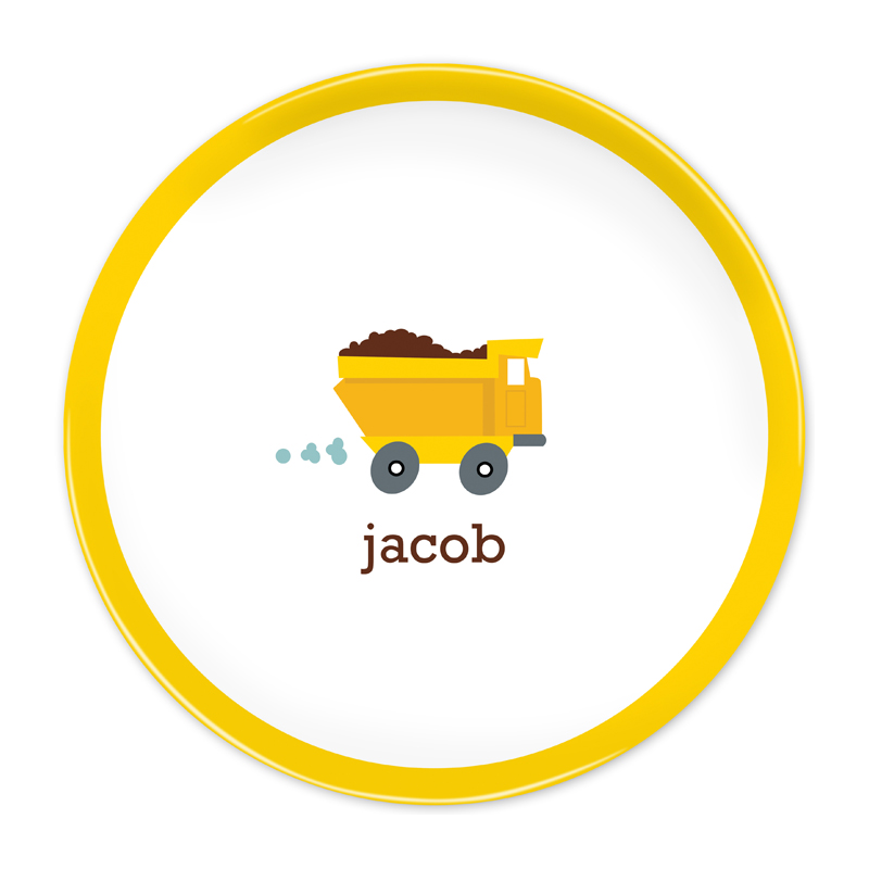 Personalized Truck 10 inch Plate