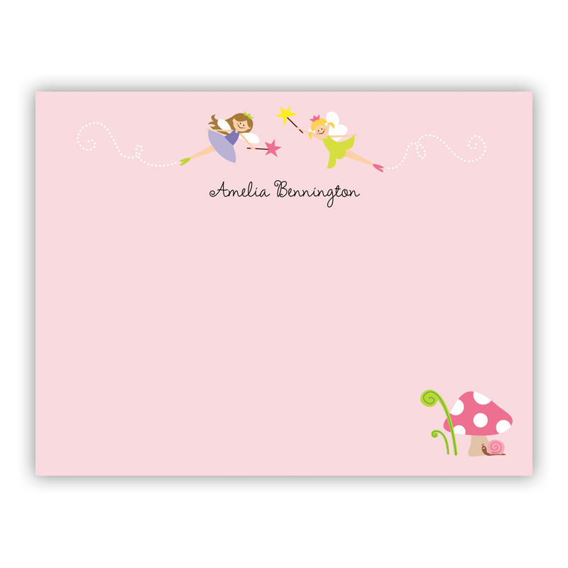 Fairy, Customized Small Flat Stationery Note