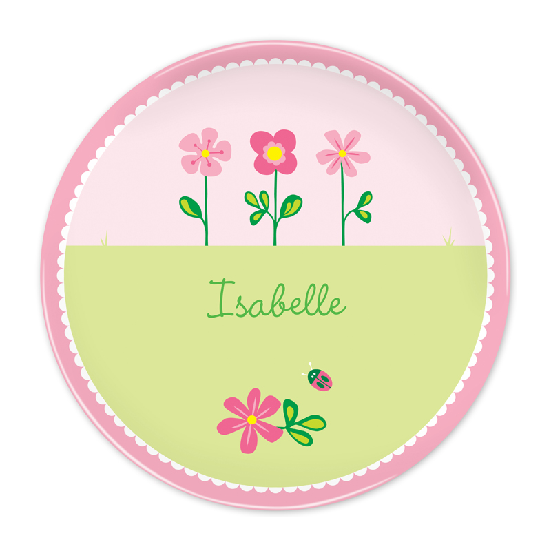 Personalized Garden 10 inch Plate