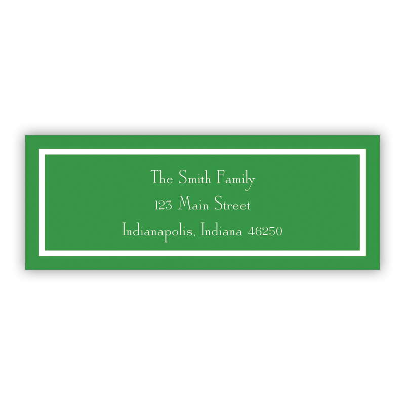 Classic Pine Return Address Label, 90 labels