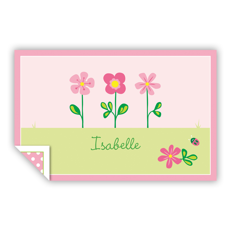 Garden Personalized Laminated Placemat