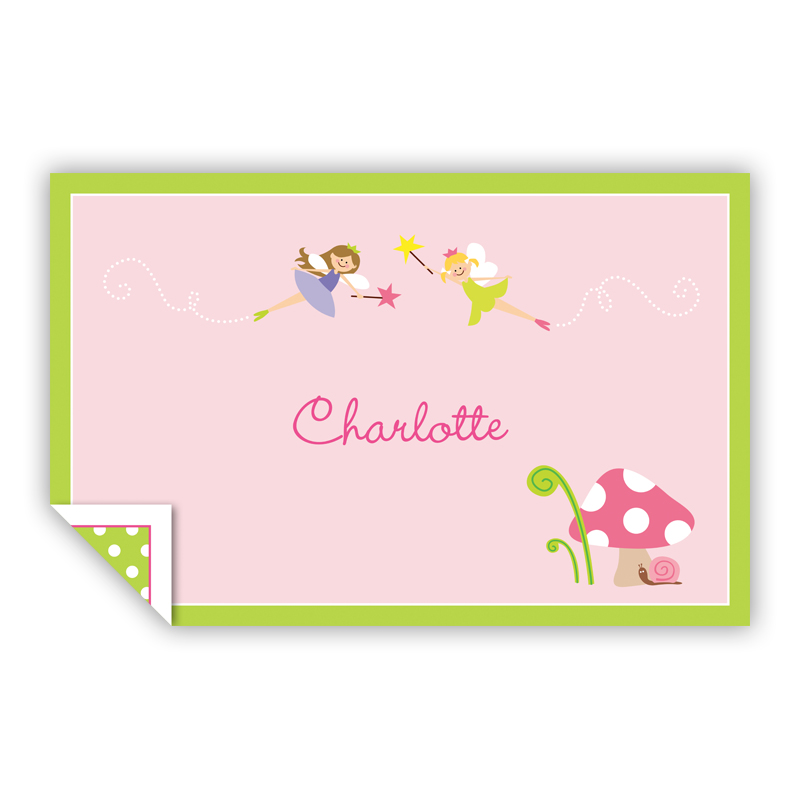Fairy Portrait, Customized Personalized Laminated Placemat