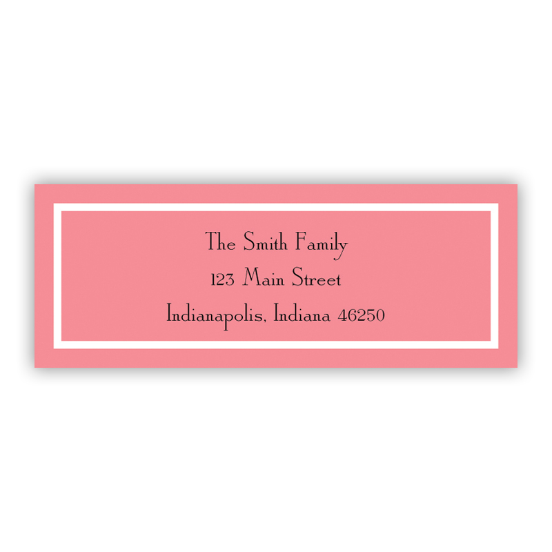 Classic Melon Return Address Label, 90 labels