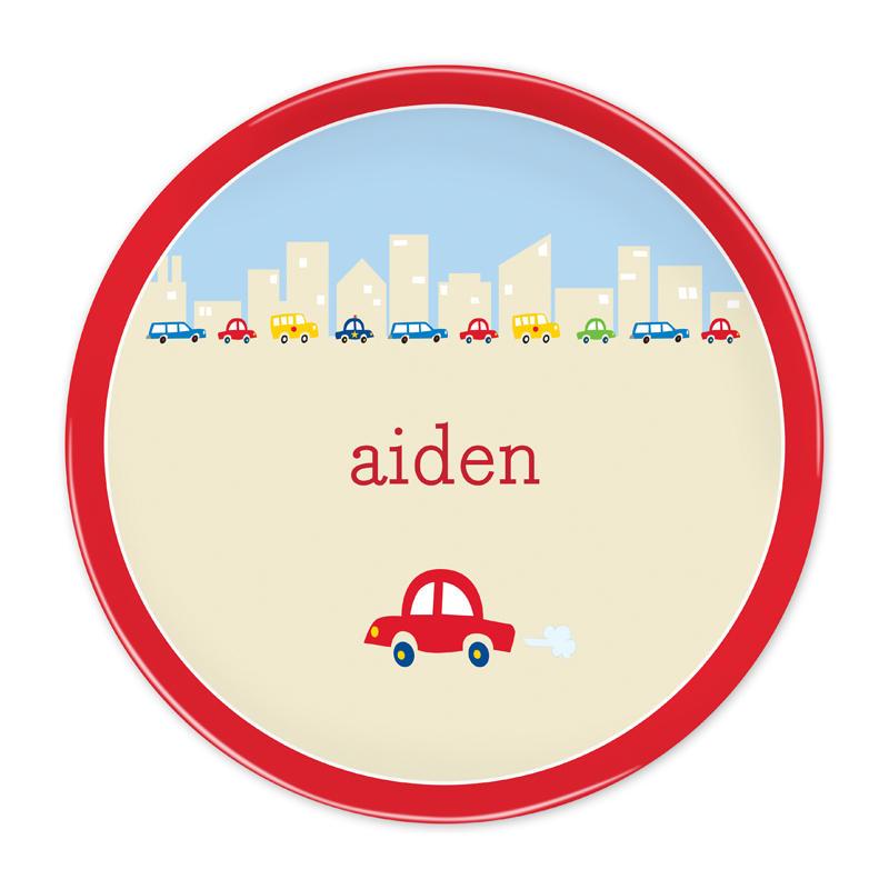Personalized Cars 10 inch Plate