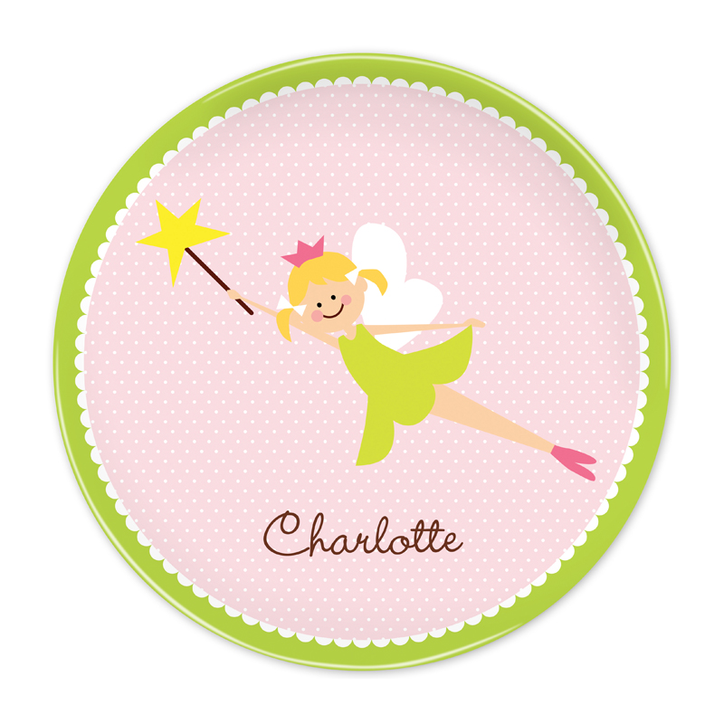 Personalized Fairy Portrait, Customized 10 inch Plate