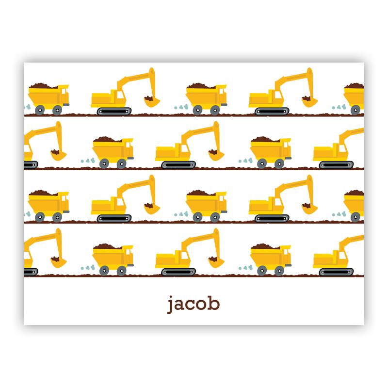 Truck Stationery, 25 Foldover Notecards