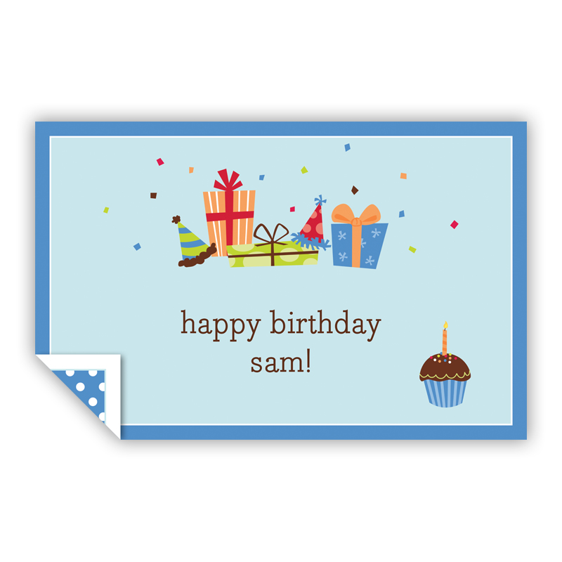 Birthday Sky Personalized Laminated Placemat