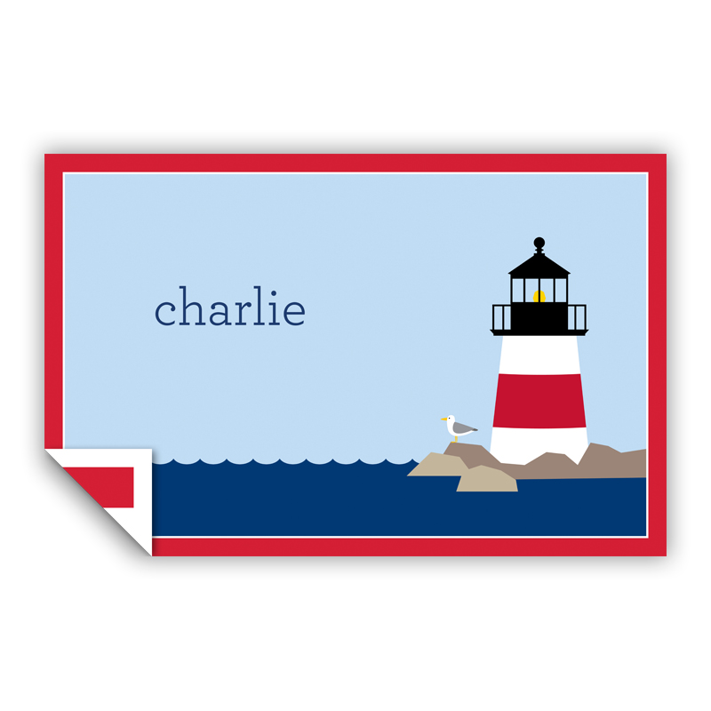 Lighthouse Personalized Laminated Placemat