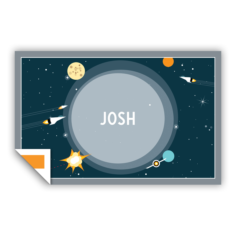 Galaxy Personalized Laminated Placemat