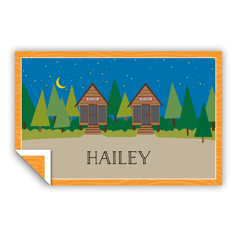 Bunks Personalized Laminated Placemat