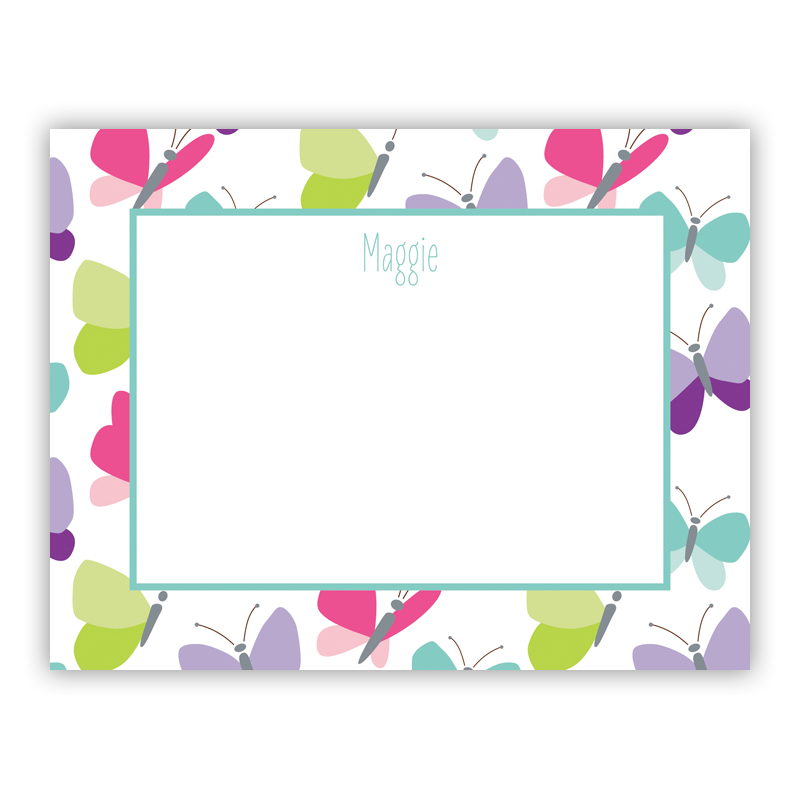 Flutter Small Flat Stationery Note