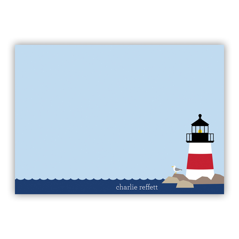 Lighthouse Invitaton or Announcement,  set of 25
