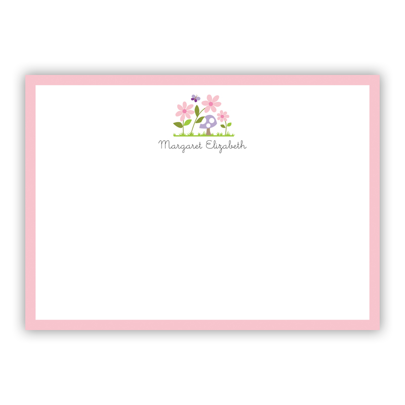 Bloom Flat Stationery, 25 Notecards
