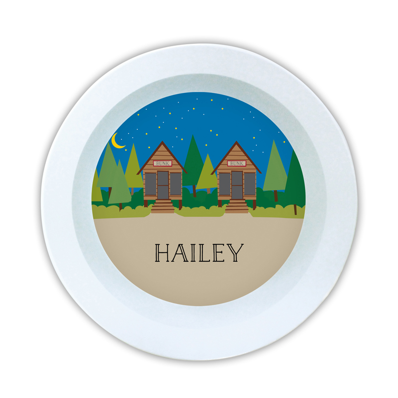 Bunks Personalized 5 inch Round Bowl
