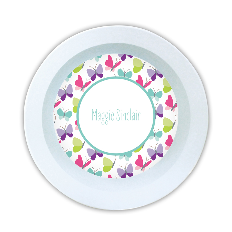 Flutter Personalized 5 inch Round Bowl