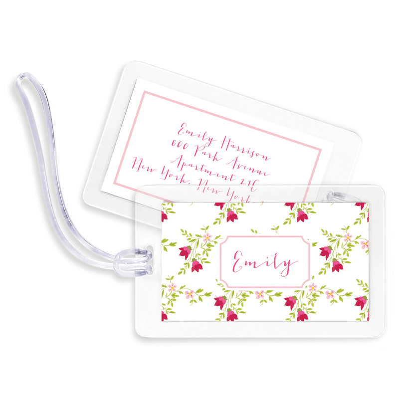 Camryn Floral Bag Tags, Set of 4