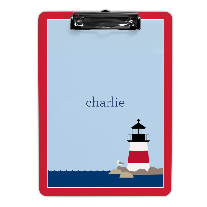 Lighthouse Clipboard, Personalized