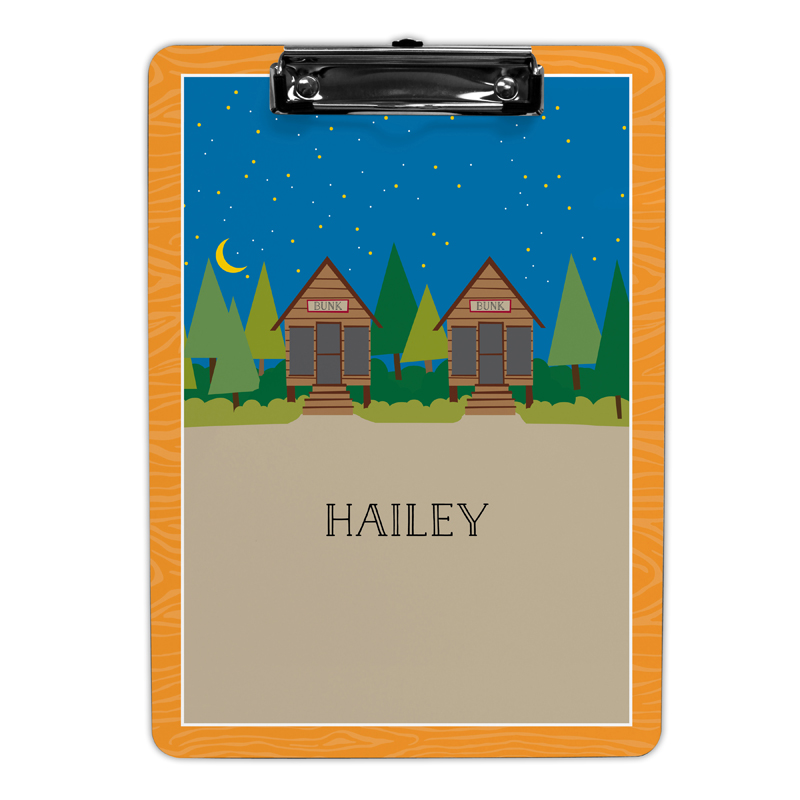 Bunks Clipboard, Personalized