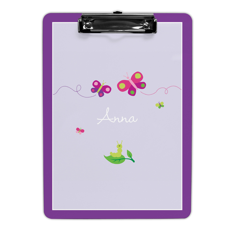 Butterfly Clipboard, Personalized