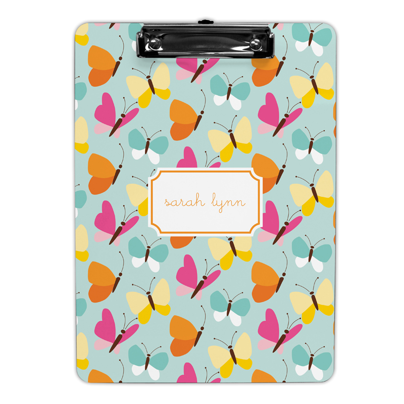 Flutter Teal Clipboard, Personalized