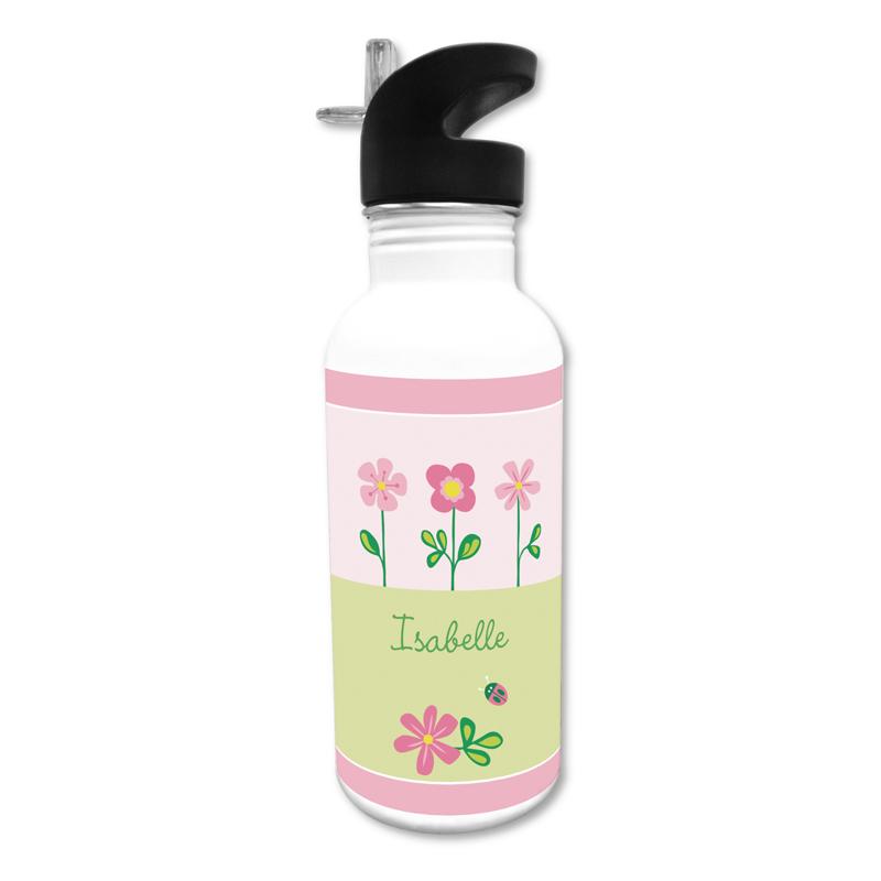 Garden 20 oz Water Bottle, Personalized