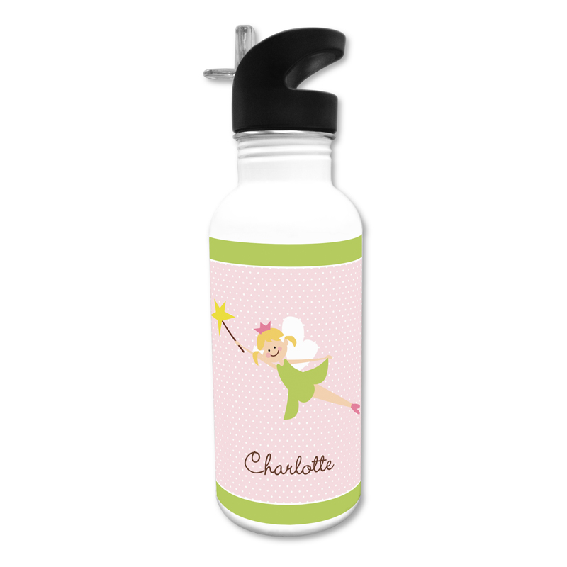 Fairy Portrait, Customized 20 oz Water Bottle, Personalized