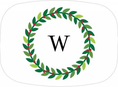 Wreath Platter