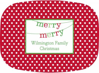 Banner Merry Merry Platter