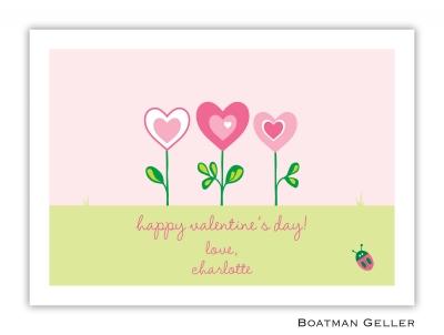 Heart Garden Valentine Card