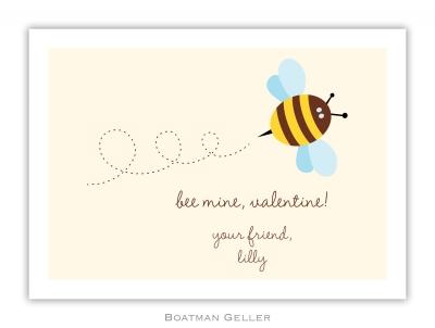 Bee Valentine Valentine Card