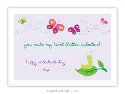 Butterfly Valentine Valentine Card