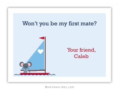 George Sailor Valentine Valentine Card