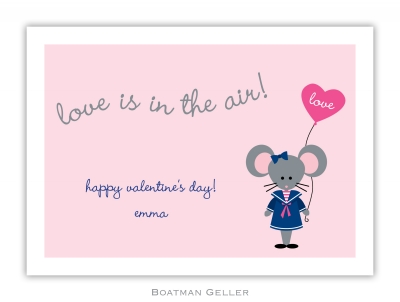 Mimi Mouse Valentine Valentine Card