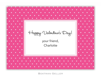 Swiss Hearts Exchange Boatman Geller Valentine Card