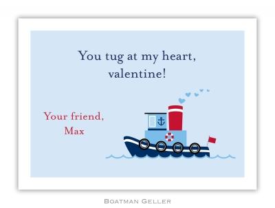 Tugboat Valentine Valentine Card