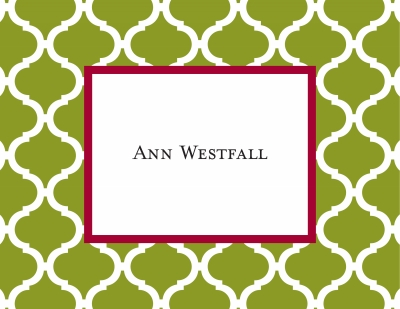 Ann Tile Jungle Stationery Personalized by Boatman Geller