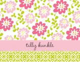 Block Meadow Pink Stationery Personalized by Boatman Geller