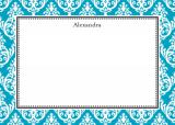 Madison Teal Stationery Personalized by Boatman Geller