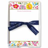 Bright Floral Stationery Personalized by Boatman Geller